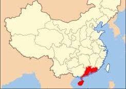Cantonese Map